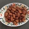 ご飯のおかずの追加一品、煮豆。