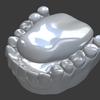 「身体のモデリング」その64 ~歯⑦~。【Blender #414】