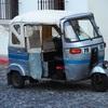 グアテマラ乗り物体験記その2「トゥクトゥク」