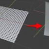Blender 2.8 で布状のものをつくる