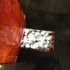 自作スピーカーの高音質化 ジルコンサンドと鉛粒
