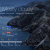GeekToolでお天気表示 最新版