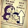 """インドネシア  """" bungkus ブンクス """" にハマる"""
