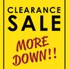 CLEARANCE SALE!! Tシャツ○○○円から!!