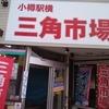 【うに丼?】小樽駅横三角市場・武田鮮魚店   小樽産塩バフンウニ。ホッケの煮つけを添えて。