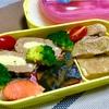 本日のヨメさん弁当【2019.01.08】~鶏モモスパイス焼き・塩鮭・カボチャの煮物~