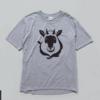 カモシカちゃんTシャツが出来ました