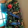 クリスマスツリー出しました。