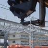 JRやない駅と金魚/山口県
