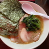 【六角家系】「つばさ家」立川店のチャーシューメンとミニライス@立川