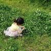 母の日のお花摘み