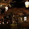 「能登さくら駅」こと能登鹿島駅の夜桜を撮りに行った