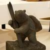 木彫り熊の展示を見に行った(札幌国際芸術祭)