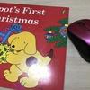 【クリスマス・英語絵本】「Spot's First Christmas 」 文法は中一・5級程度 かなりおすすめしたい仕掛け絵本 このお値段で見開き11ページ 子どもの食いつきが良い