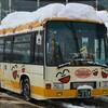 雪の福井 永平寺口行き・浅水行きと代行バス