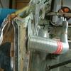 1971 マスタングマッハ1 右クォーターポストの修復2