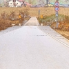 亀岡散歩 保津小橋(沈下橋)への道