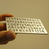 エッチングウォレットを作る(エッチングによる秘密鍵のステンレス板への刻印)