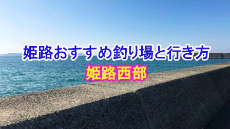 姫路のおすすめ釣り場と行き方(姫路西部)