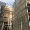 新店舗建築、中間報告。