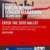 ロンドンマラソン2019エントリー方法
