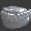 「身体のモデリング」その62 ~歯⑤~。【Blender #412】