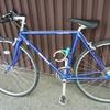自転車をドロップハンドルからブルホーンハンドルにしたおはなし
