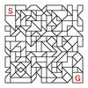 四角渡り迷路:問題9
