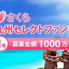 【さくらソーシャルレンディング】オープン記念案件「さくら九州セレクトファンド」が募集開始!人気は?