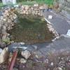 カメ池2号池を作り直しました!!