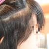 部分的な髪のクセ!