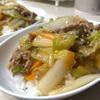【10分で出来る男のズボラ飯‼️超お手軽中華丼が美味い‼️】