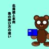 道南(北海道) 釣り 魚名称事情【北海道(道南)と本州(おもに関東~関西圏)、魚の呼び方の違い】