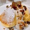 11月限定🌰国産和栗のモンブランホイップパンケーキ実食!【幸せのパンケーキ】