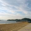 坂町の海水浴場