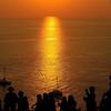 夕暮れ時に恋人と見たいプーケット最南端岬の夕日