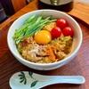 【レシピ】カレー雑炊風オートミール「ややインド風カレー南蛮おじや的オートミール玉落とし」の作り方