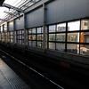 池田駅の窓