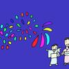 今日は豊平川の花火大会です!