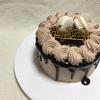チョコケーキ と 余ったホイップでブラウニー(レシピあり)