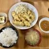 博多で、しかも600円で食べれる激うまとり天定食見つけましたー!!