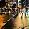 ★雨の横断歩道