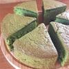 抹茶のスポンジケーキ