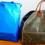 薪入れをIKEAの万能袋から、かっこいい薪専用の袋にしました!