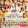 2018.9.9 ドラゴンゲート「THE GATE OF ORIGIN 2018」宮城・仙台サンプラザホール
