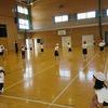 3年生:体育 リレーの練習