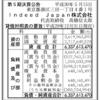 Indeed Japan株式会社 第5期決算公告