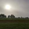 陸上競技場サブグラウンドでスピード練習