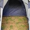 犬連れキャンプ・購入したテントはツーリングテント・ツールーム