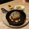 【カサミラ】丸みのあるハンバーグが可愛い(中区胡町)